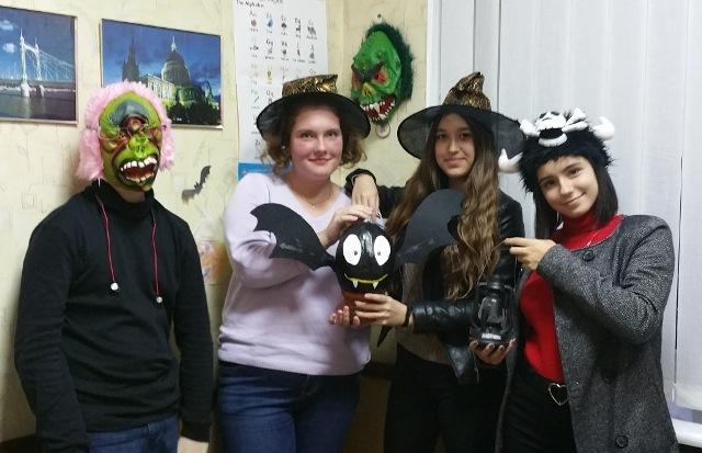 Английский - игры и конкурсы на Хеллоуин