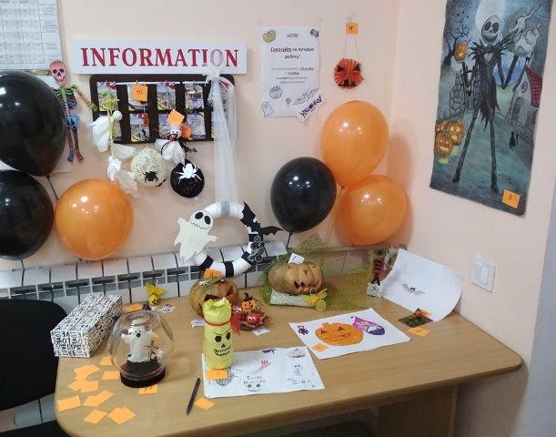 Конкурс поделок на Хеллоуин
